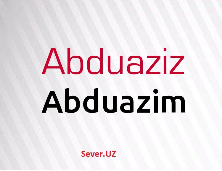Abduazim