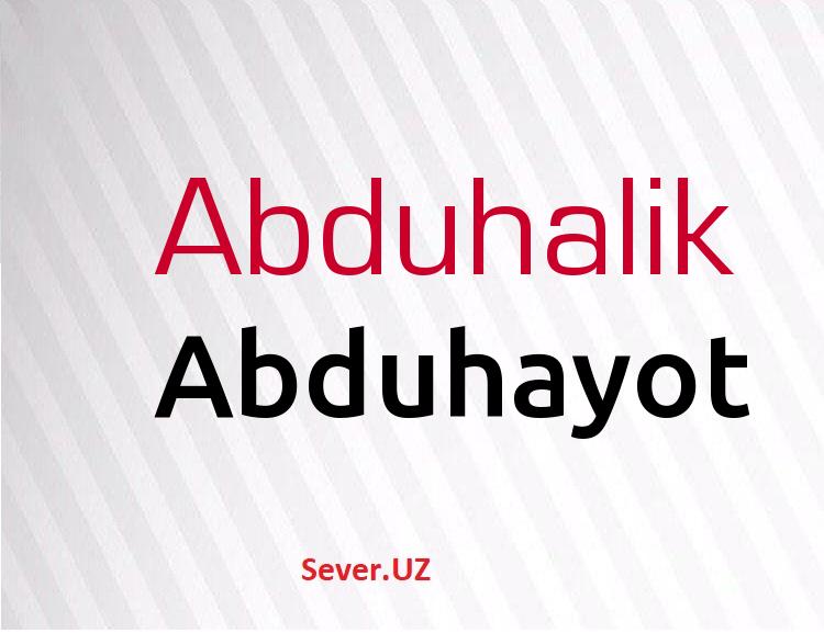 Abduhayot