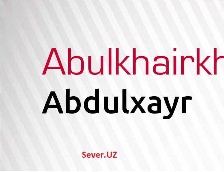 Abdulxayr