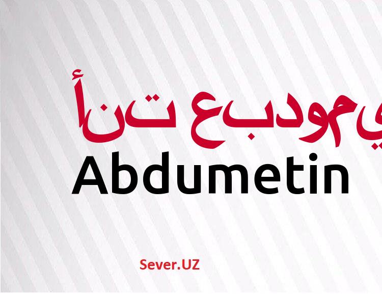 Abdumetin