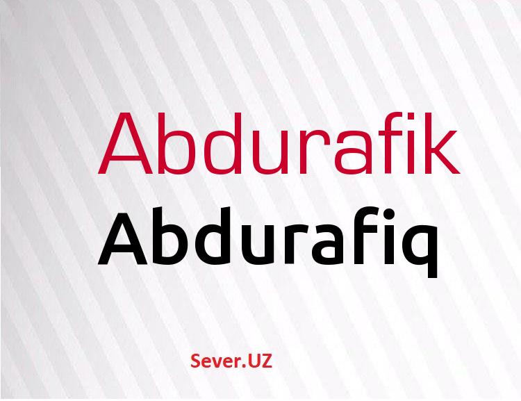 Abdurafiq