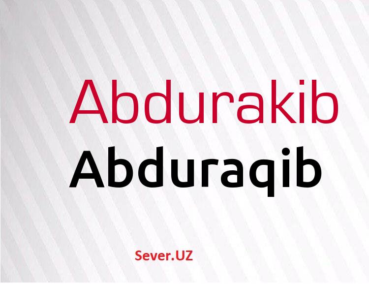 Abduraqib