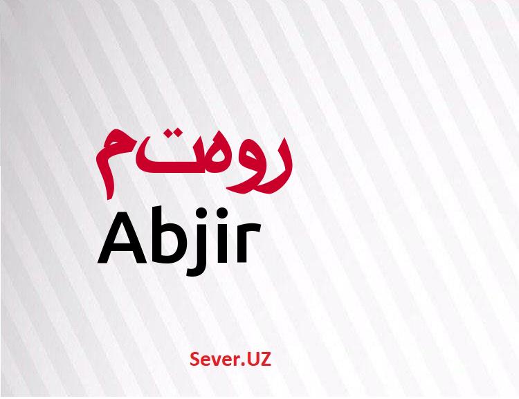 Abjir