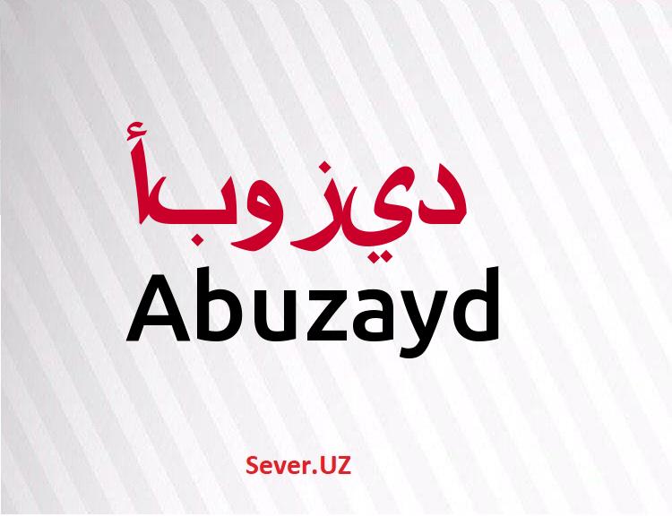 Abuzayd