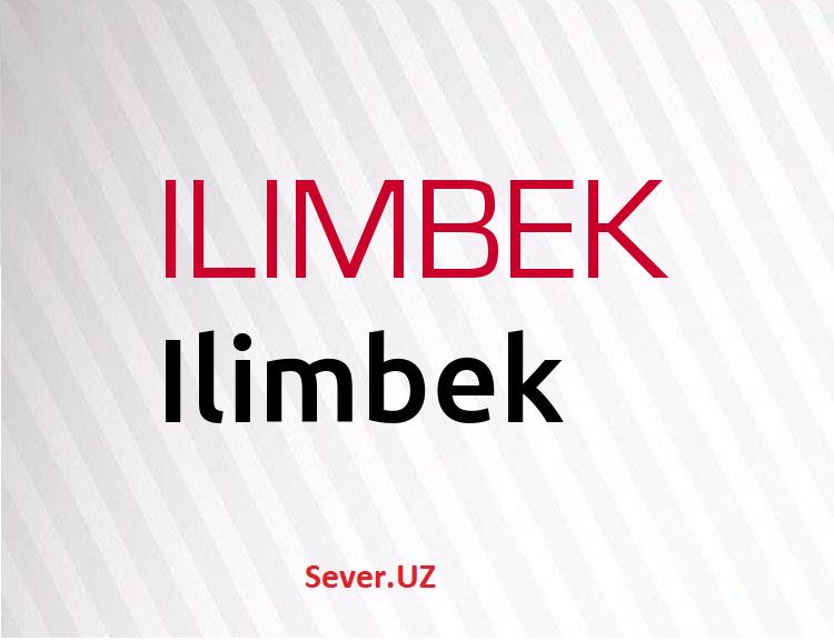 Ilimbek
