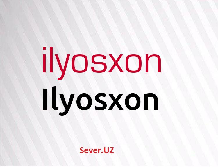Ilyosxon