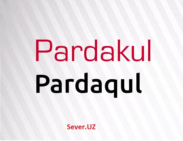 Pardaqul
