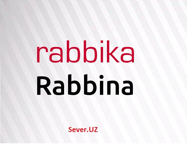 Rabbina