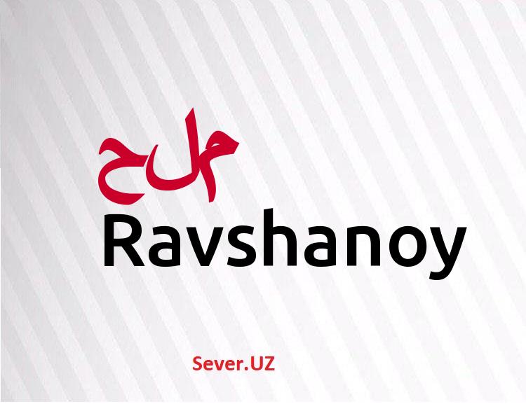 Ravshanoy