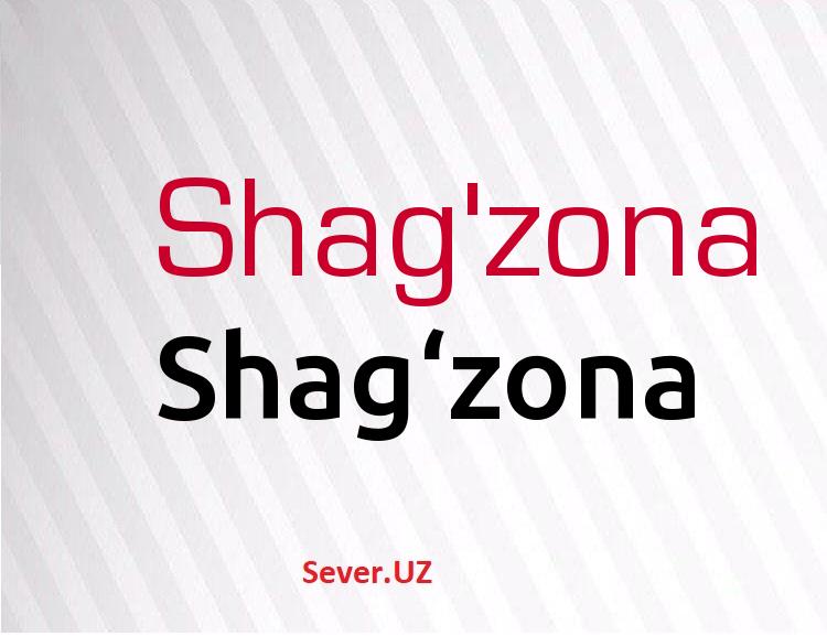 Shag'zona