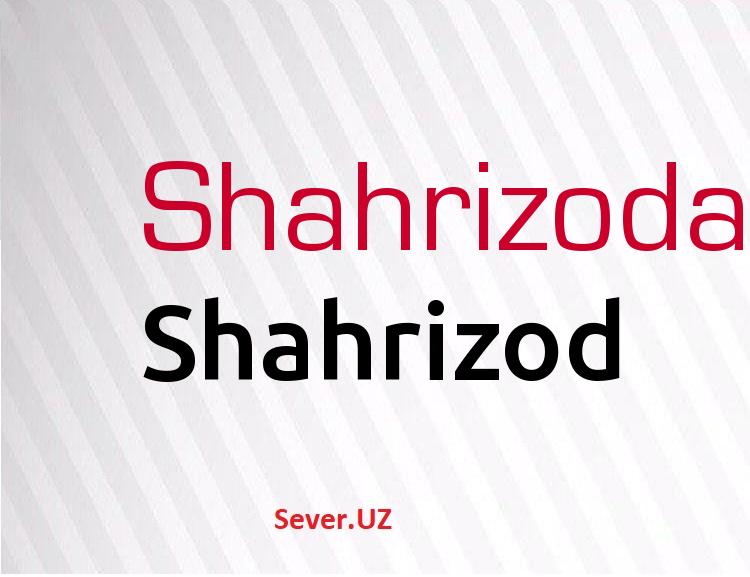 Shahrizod