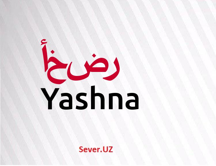 Yashna