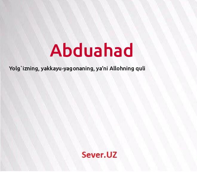 Abduahad