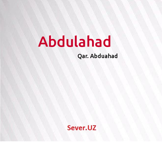 Abdulahad