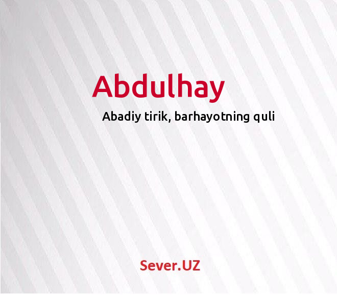 Abdulhay