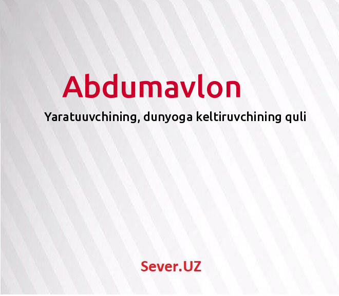 Abdumavlon