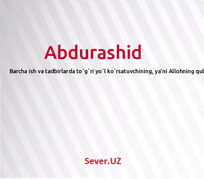 Abdurashid