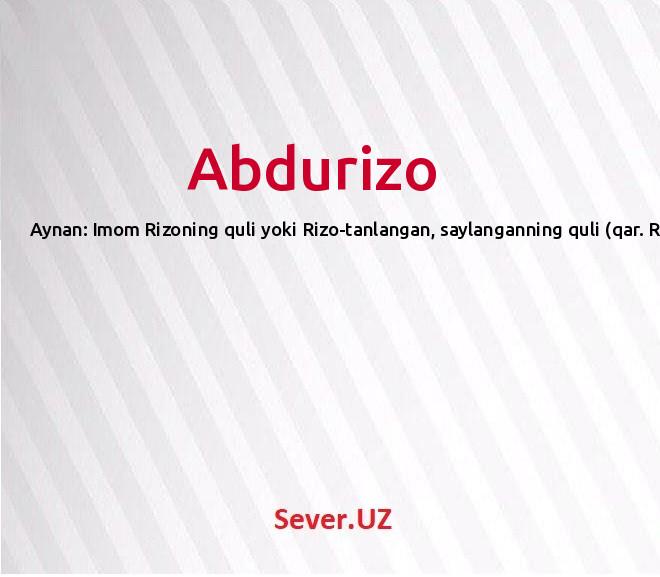 Abdurizo