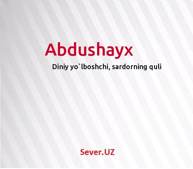 Abdushayx