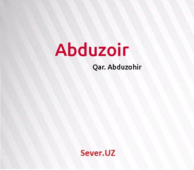 Abduzoir