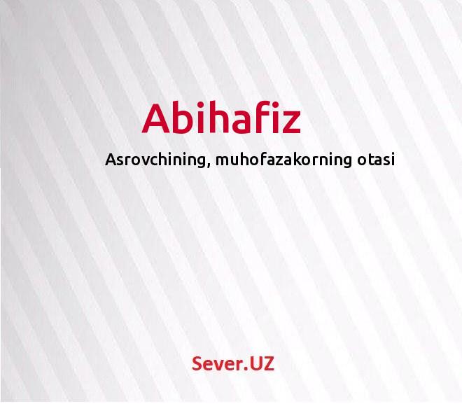 Abihafiz