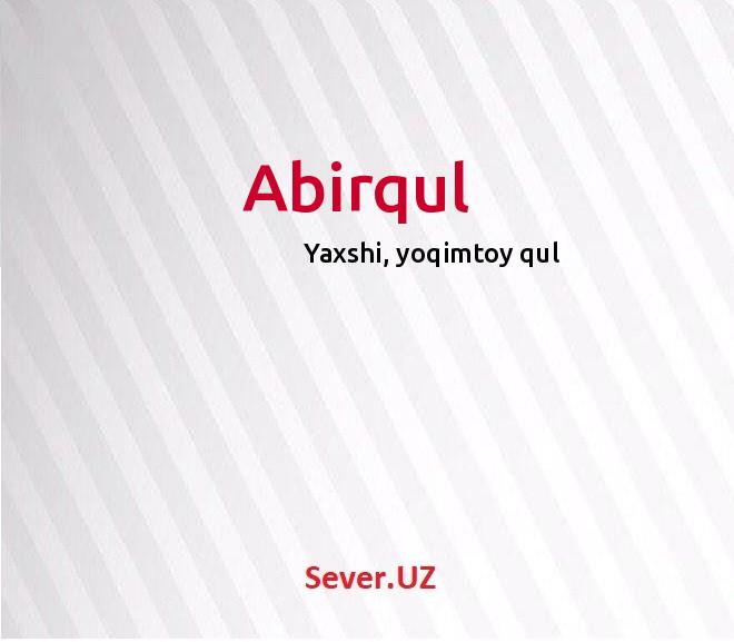 Abirqul
