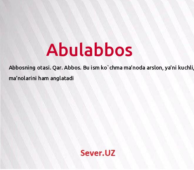 Abulabbos
