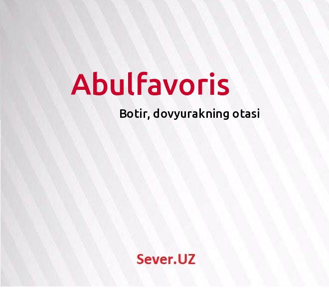 Abulfavoris