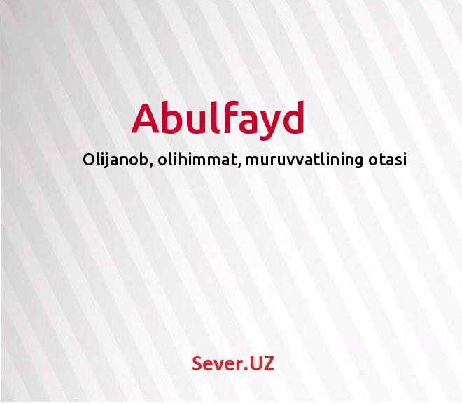 Abulfayd
