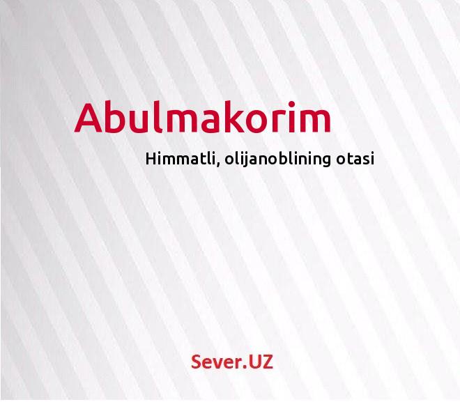 Abulmakorim