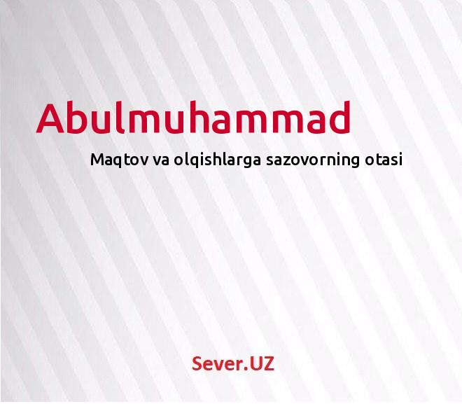 Abulmuhammad