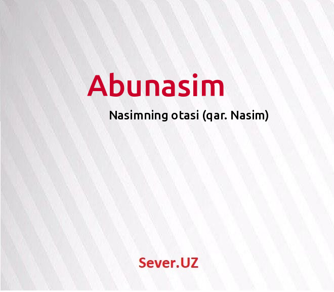 Abunasim