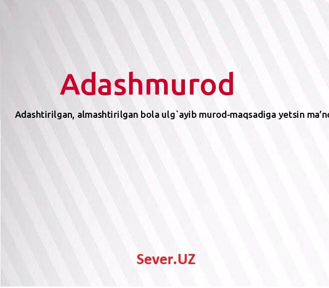 Adashmurod
