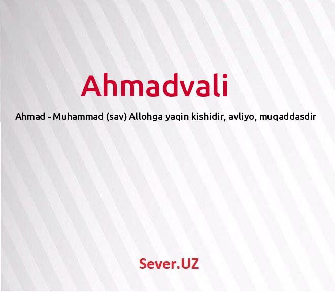 Ahmadvali