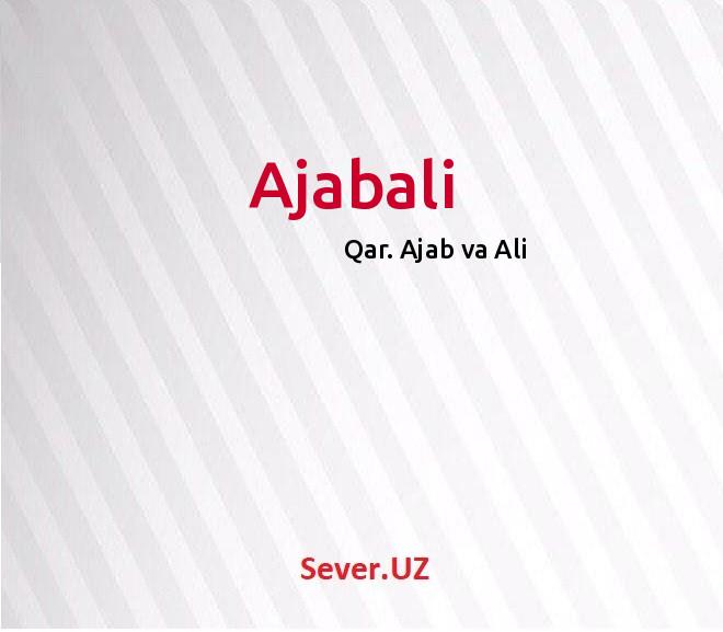 Ajabali
