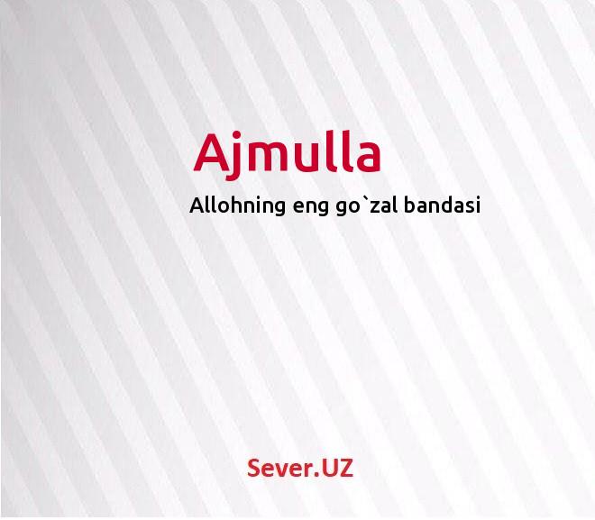 Ajmulla