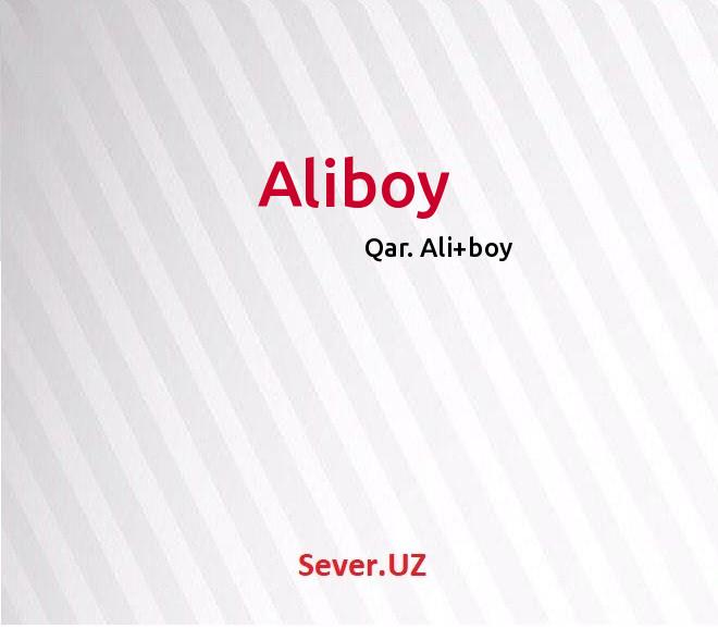 Aliboy