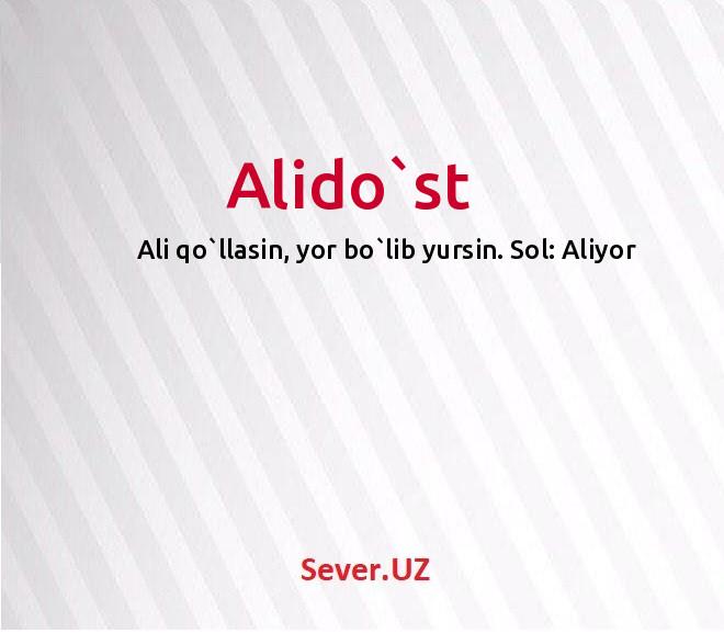 Alido`st