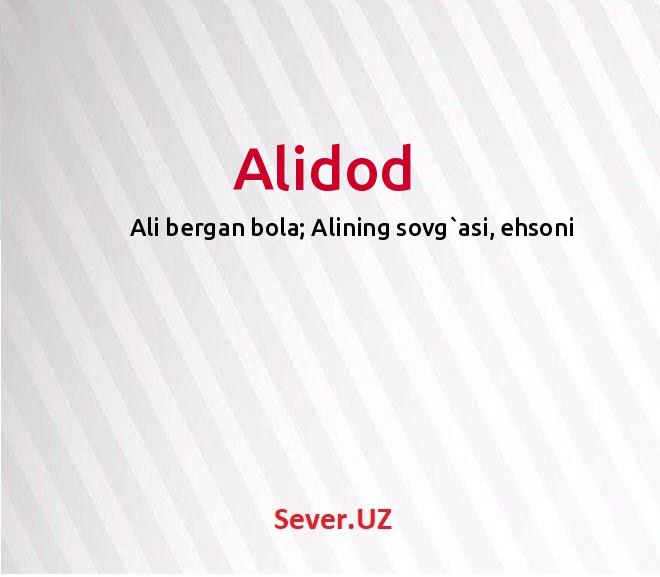 Alidod