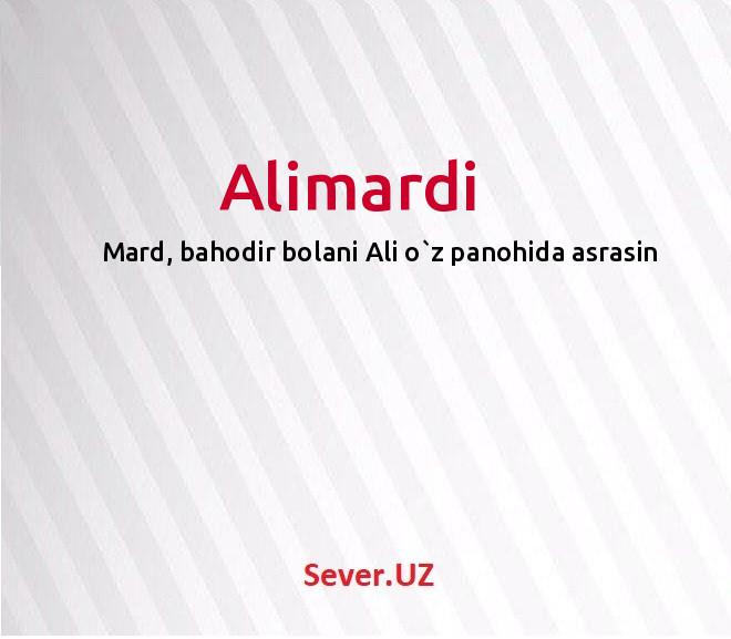 Alimardi