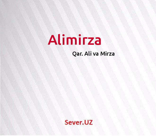 Alimirza