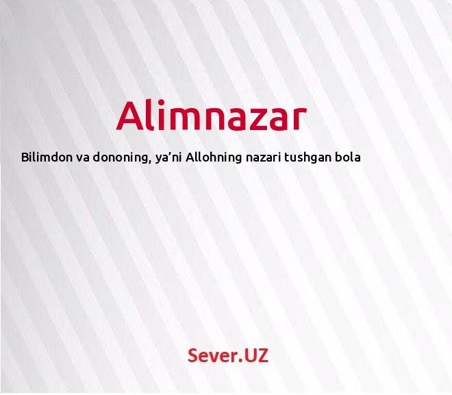 Alimnazar