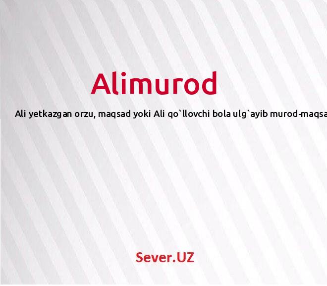 Alimurod