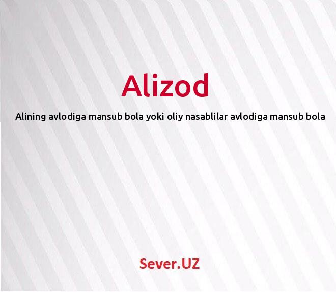 Alizod