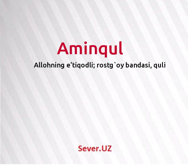 Aminqul