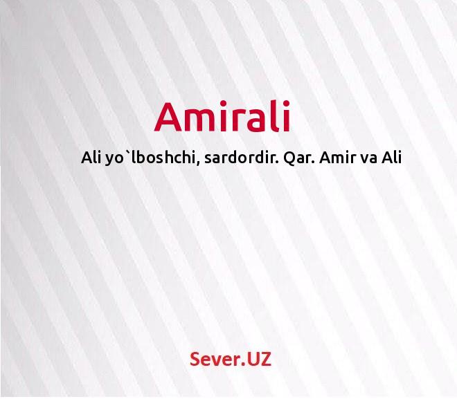 Amirali