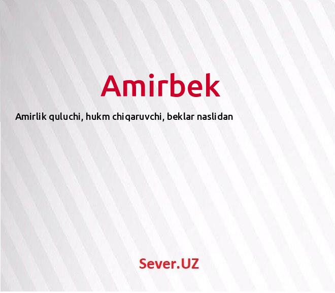 Amirbek