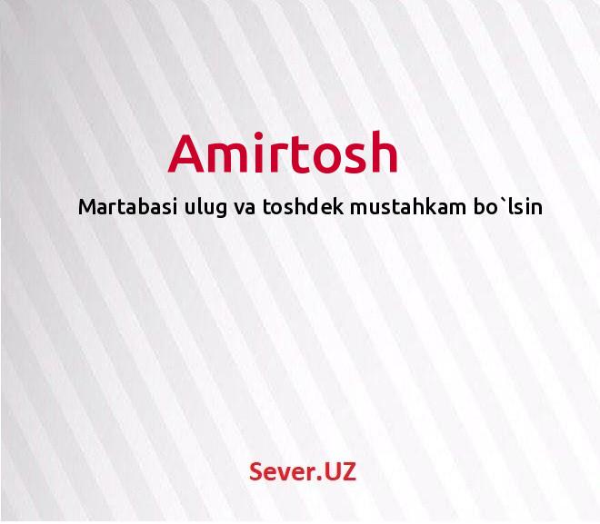 Amirtosh