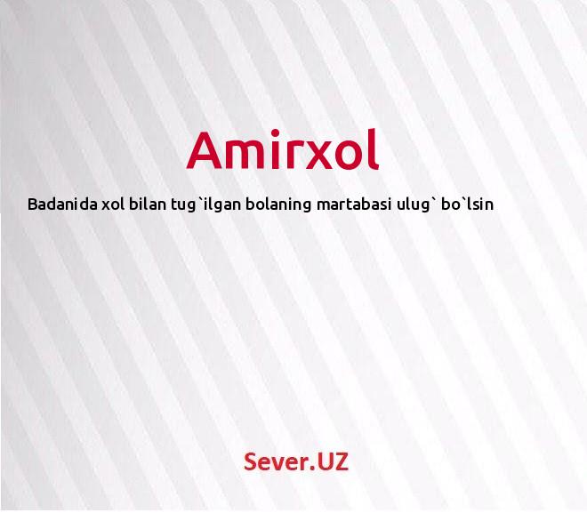 Amirxol