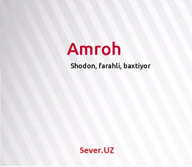 Amroh